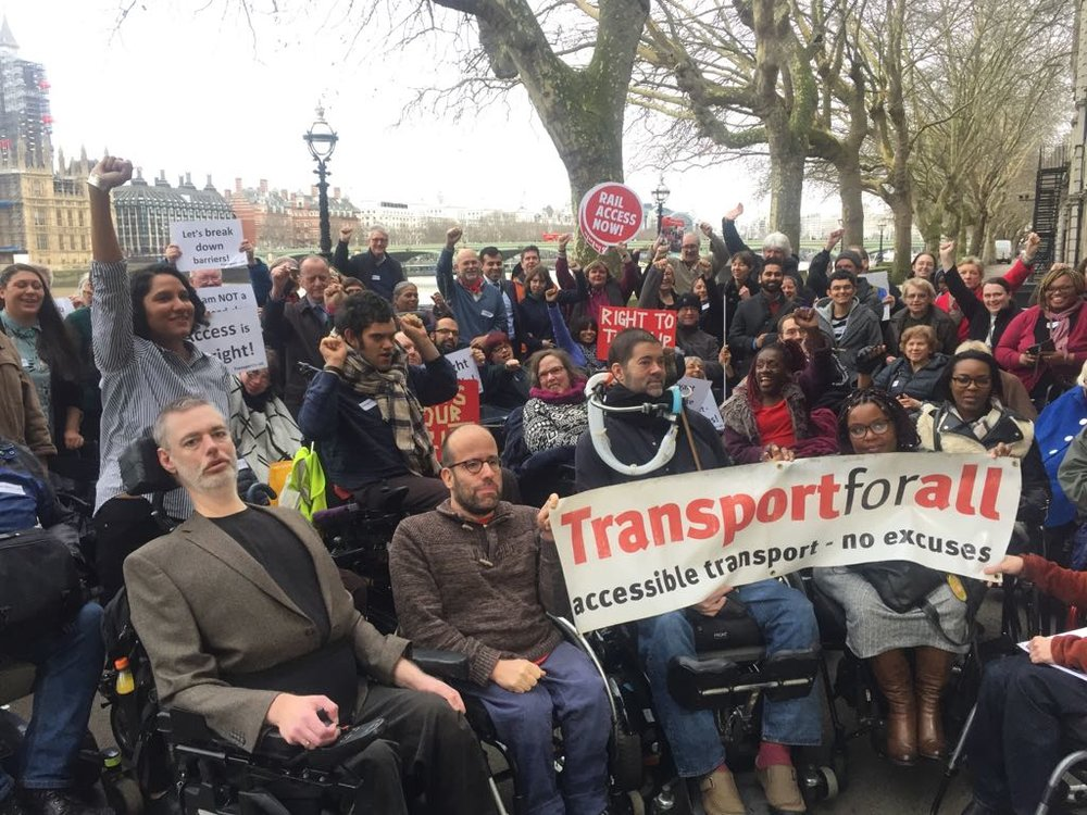 Transport for All is a well-backed campaign looking to make public transport in the UK more accessible for passengers with specific needs. Image credit:    Transport for All   /   Twitter