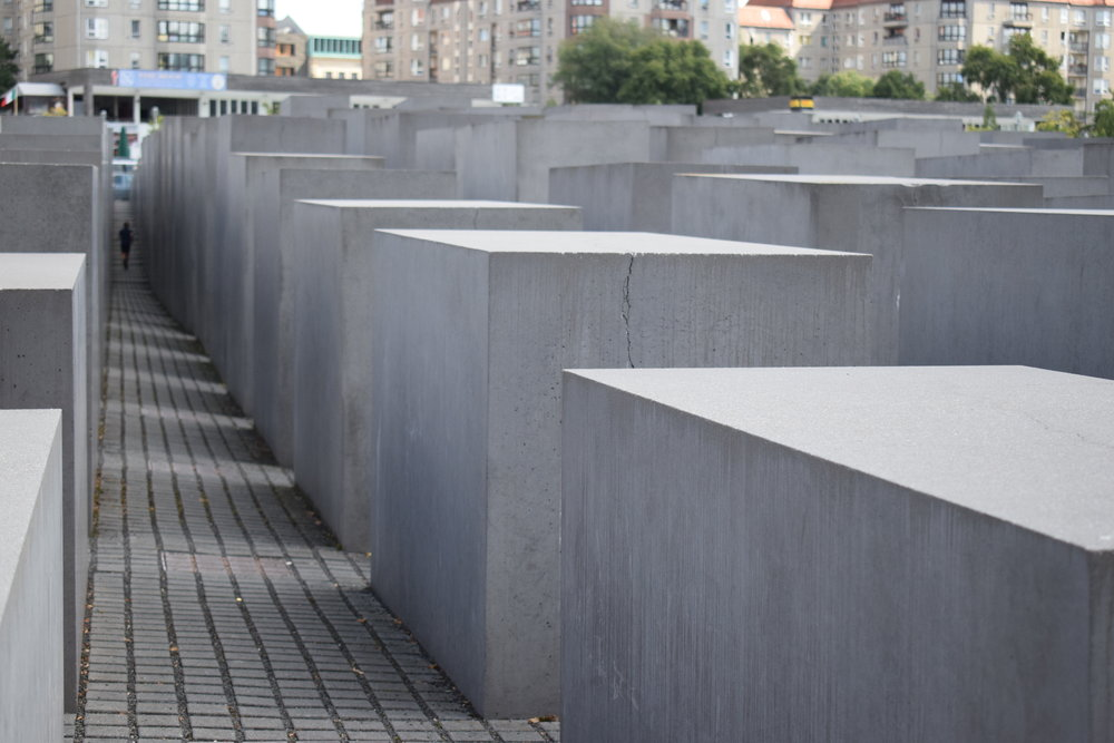 The Memorial to the Murdered Jews of Europe, which is one of Berlin's most popular and poignant installations.