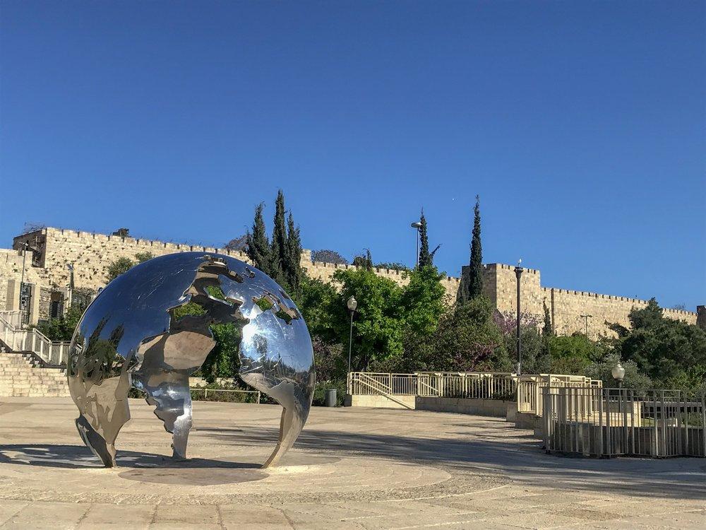 Jerusalem's Teddy Park.