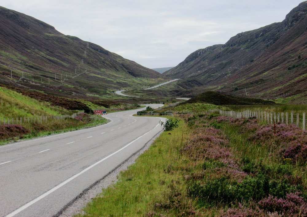 Could roads like this in the Scottish Highlands be the best place to take your driving test?