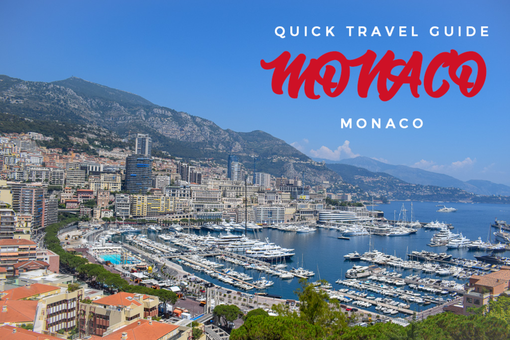 Quick Travel Guide Monaco Banner