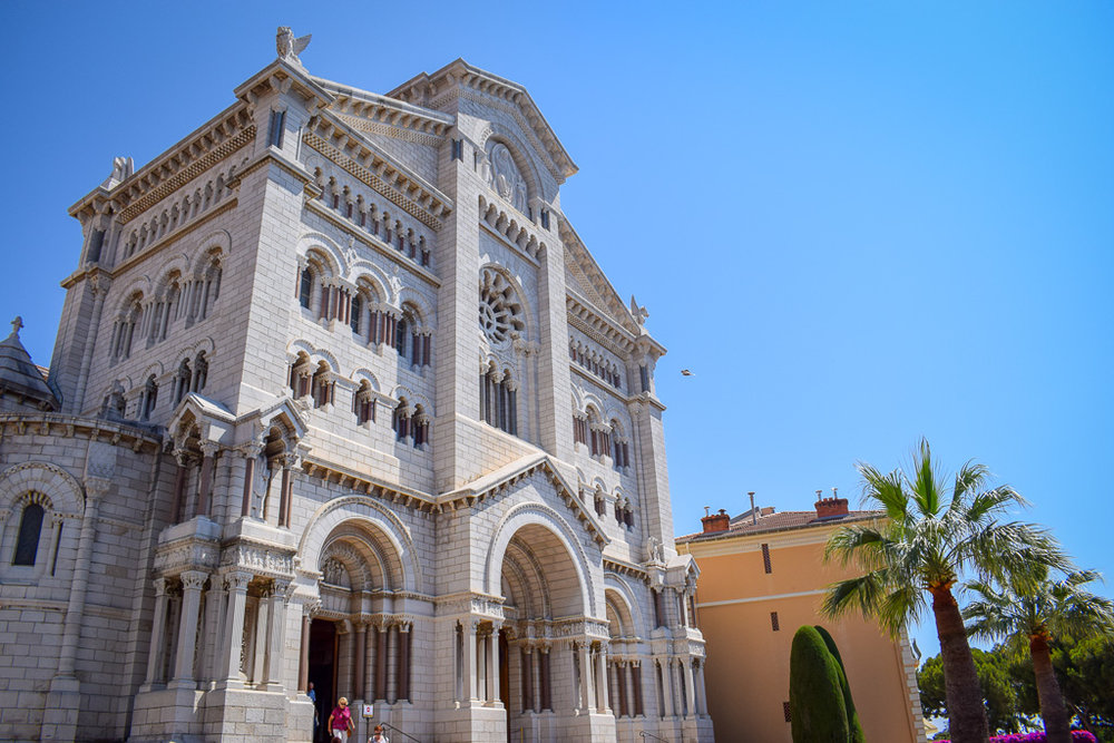 Saint Nicholas Cathedral Monaco's exterior.