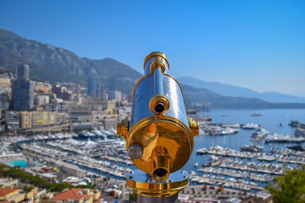 Port Hercules Monaco Telescope