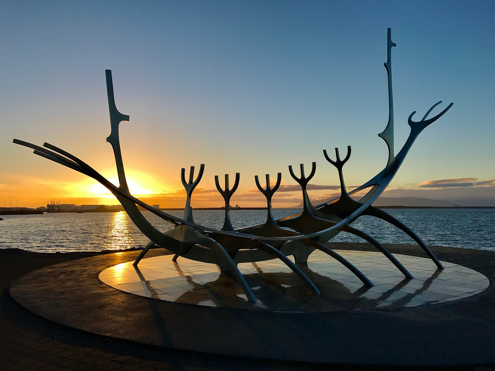 The Sun Voyager sculpture in Reykjavik. Image credit:  O Palsson / Creative Commons