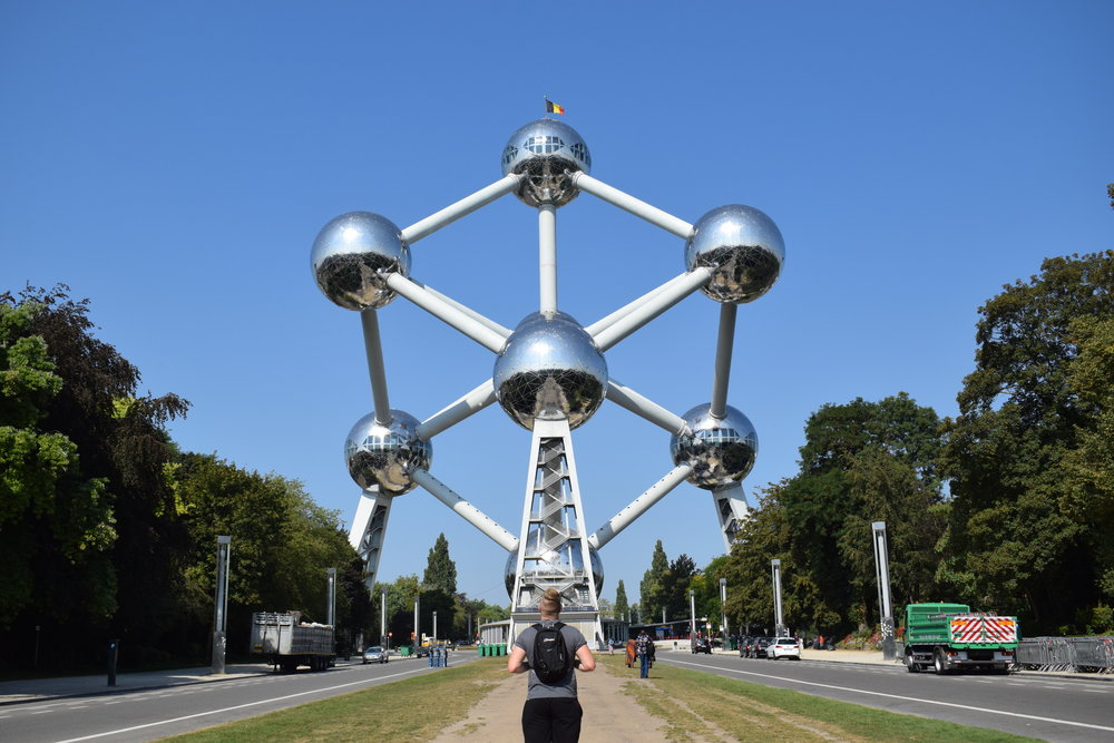 The Atomium in Brussels.