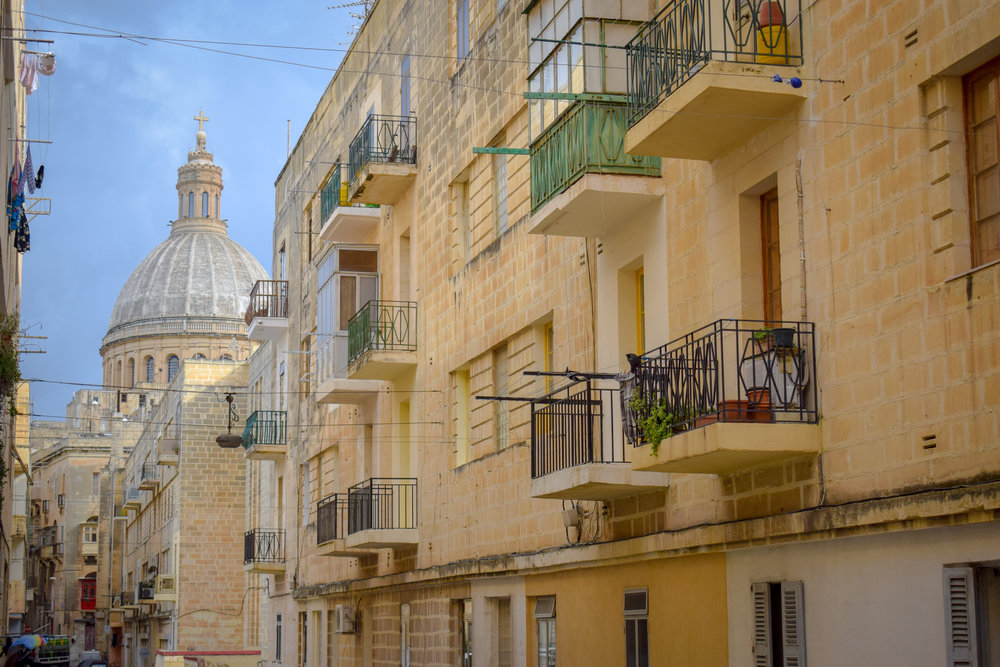 Just walking around the beautiful streets of Valletta is an attraction.