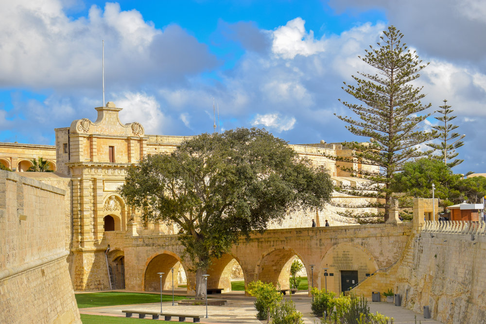 For defensive reasons, the length of Mdina's streets do not exceed an arrow's flights, and they are only wide enough to fit a single carriage.