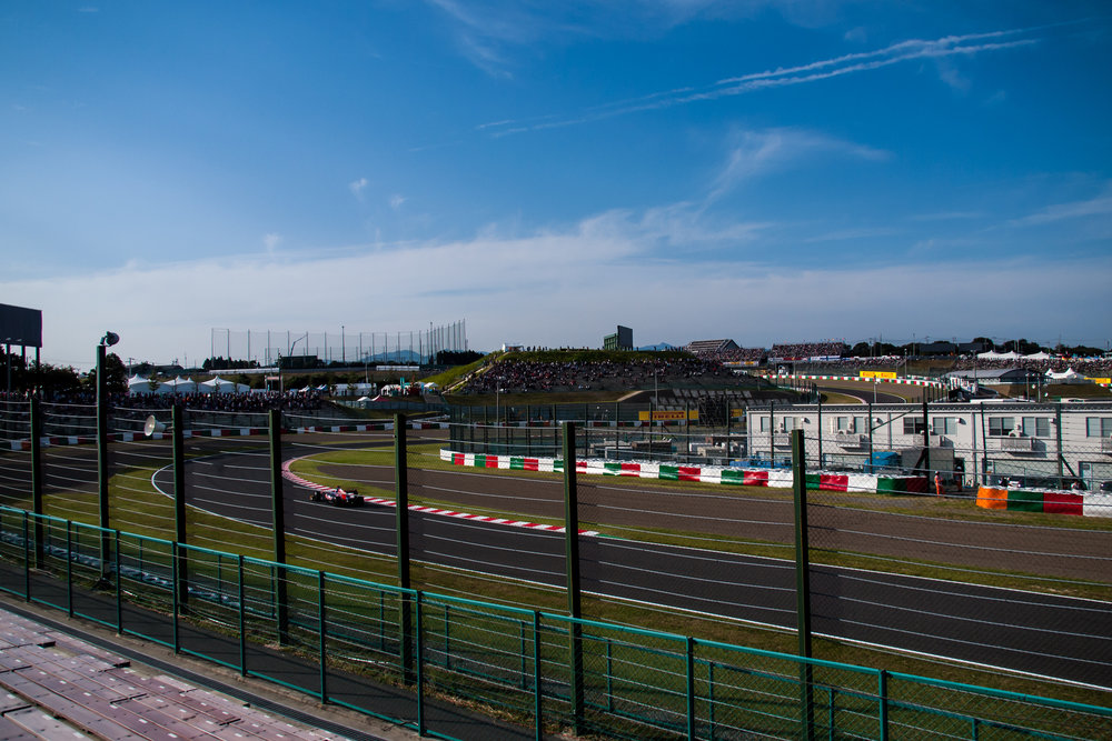 Trackside at the Japanese grand prix in Suzuka. Image credit:    nhayashida   /   Creative Commons