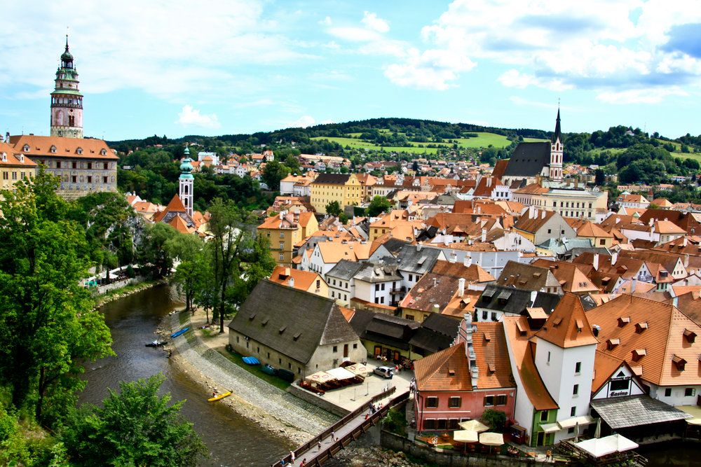 Cesky Krumlov is often referred to as 'Mini Prague.' Image credit:    Avisionn Photo   /   Creative Commons