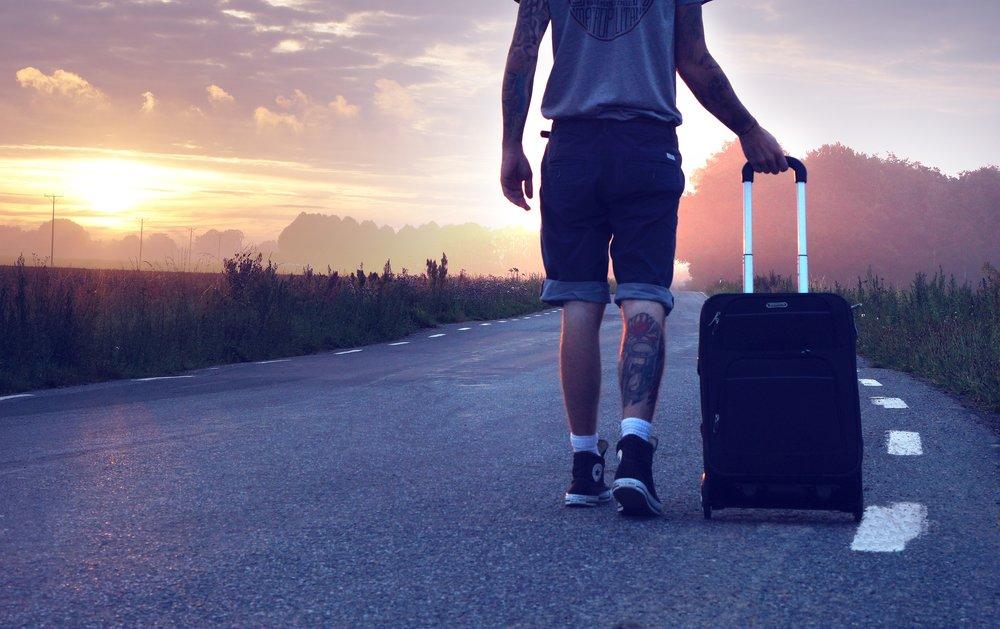 SuitcaseAtSunrise