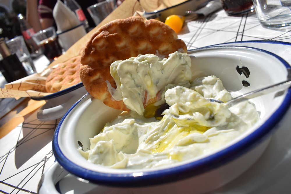 Tzatziki was a personal favourite of mine when we went to Athens.