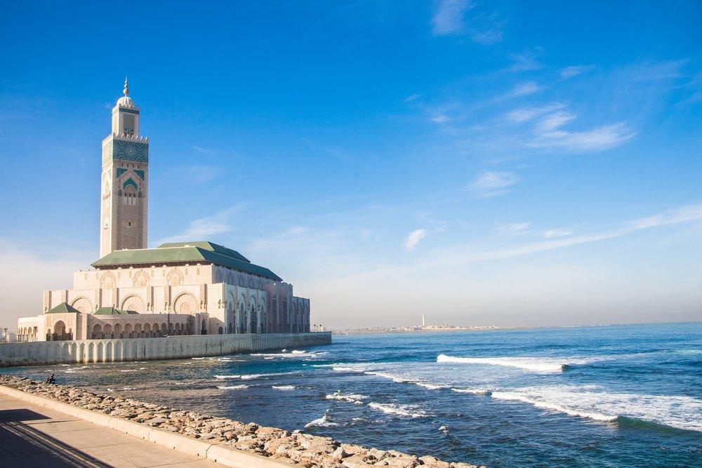 Casablanca-Beach-Mosque