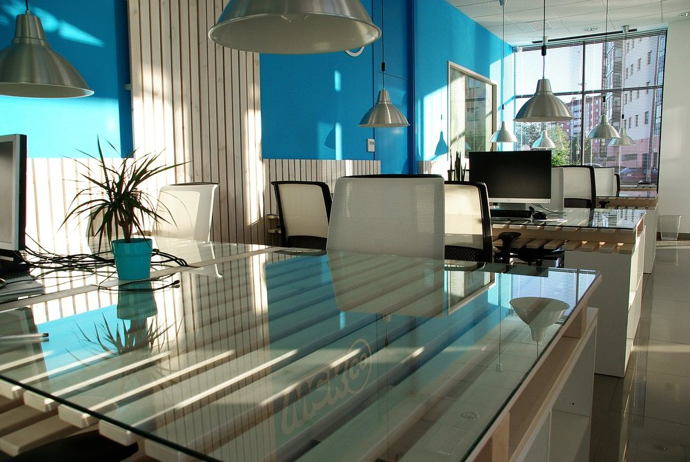 Office-City-Table-Window