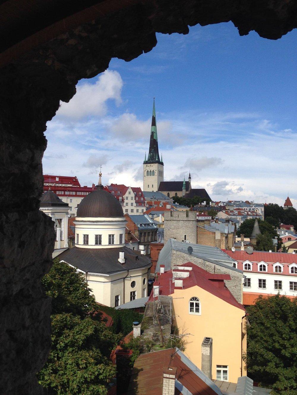 City-Walls-Tallinn-View