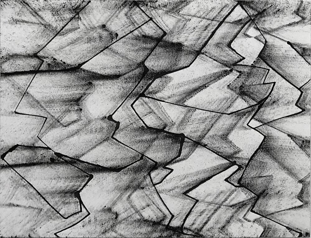 Naca 11x14, Ink on Paper