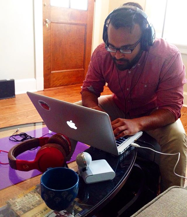 @heydavemathews hard at work editing our episode on #astronomy and #aliens ... It drops 4/12