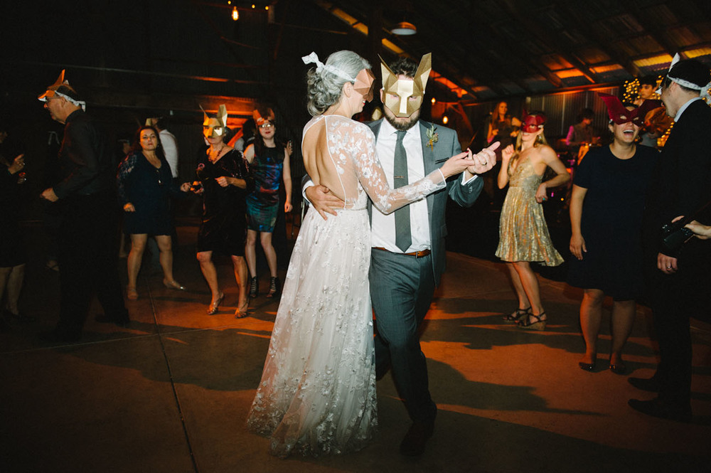 First dance inspiration for bohemian folk couples