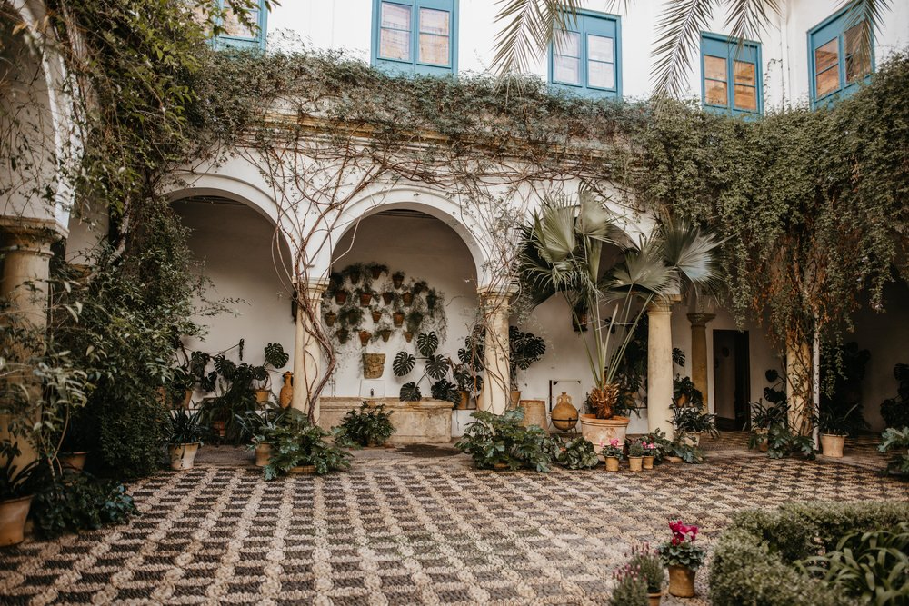 Patio wedding venues in Cordoba Andalucia Spain
