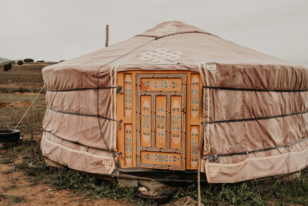 yurts spain