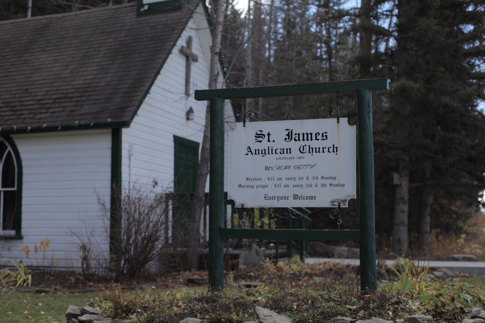 Exterior of St. James Church