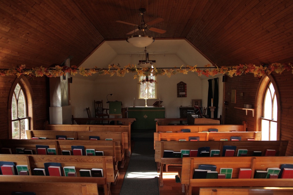 Interior of St. James Church