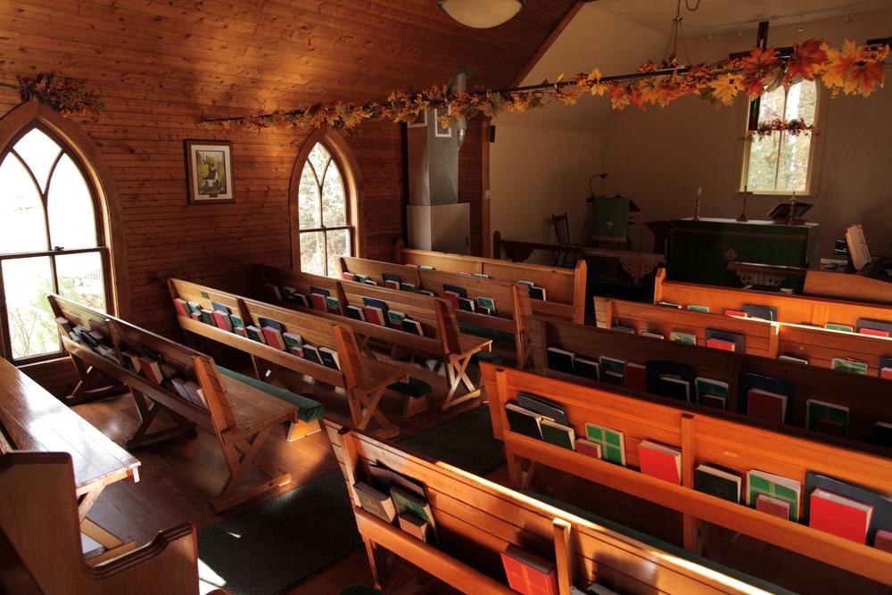 Interior - St. James Church