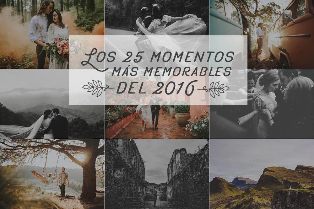 25 momentos más memorables del 2016