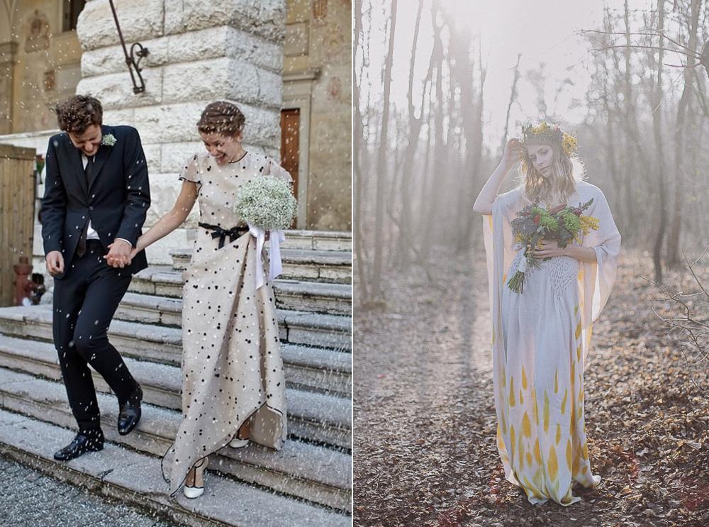 Foto:  Bayly & Moore  - Vestido:  Valentino  // Foto:  Roland Faistenberger  - Vestido:  Whatever EYE