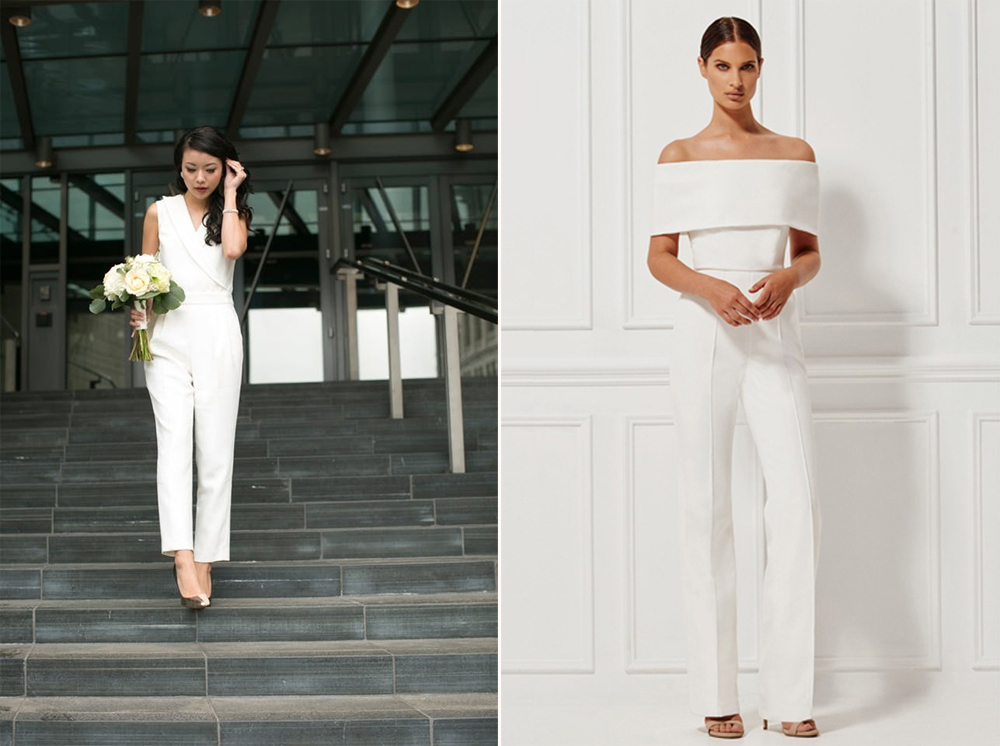 Jumpsuits:  Rachel Zoe  y  Micha Collection .