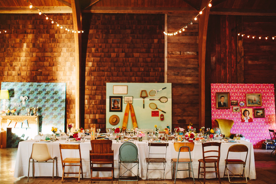 Wes Anderson Inspired Wedding. Foto: Pat Furey.