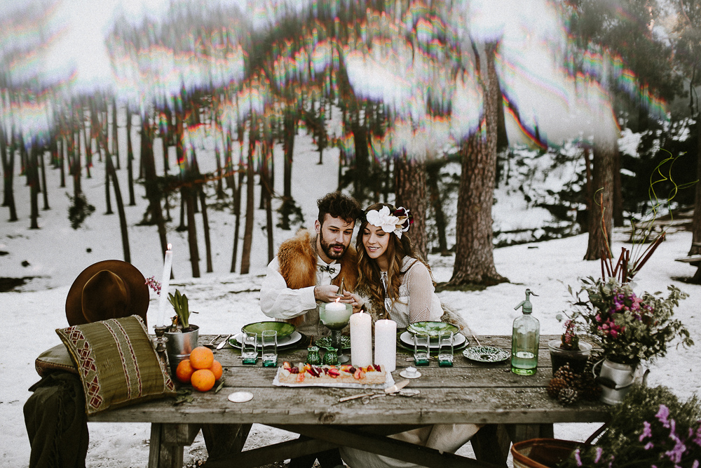 Amor Invernal. Foto: Prisma Blanco Fotografía.