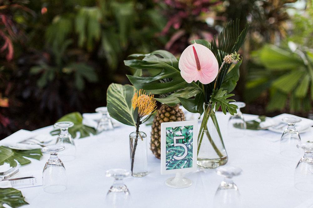 Tropical Key West Wedding. Foto: Kaity Brawley.