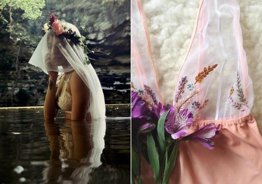 Lencería de boda Micaela