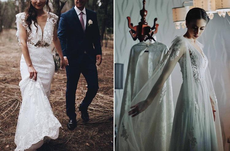 las 6 tiendas y diseñadores de vestidos de novia que enamoraron a