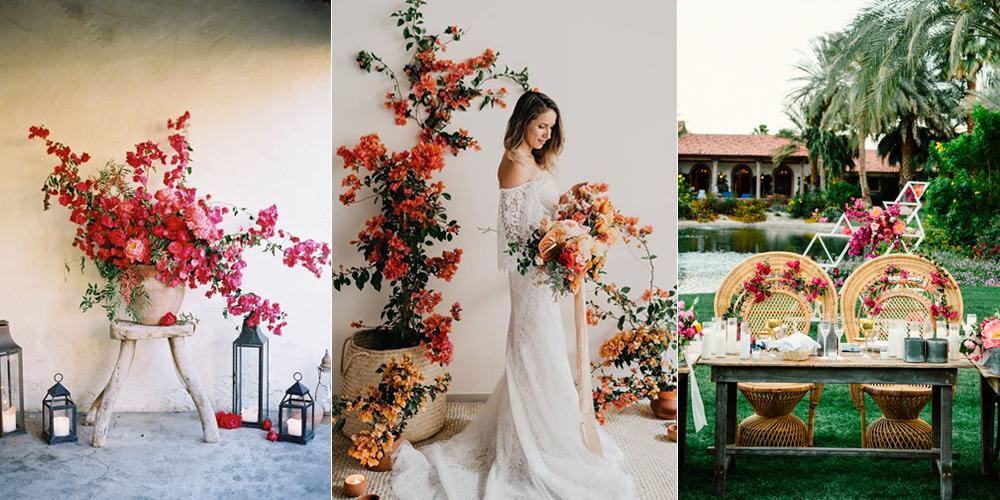 bodas con bugambilias