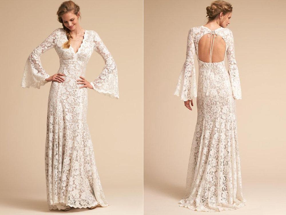 vestidos de novia plus size