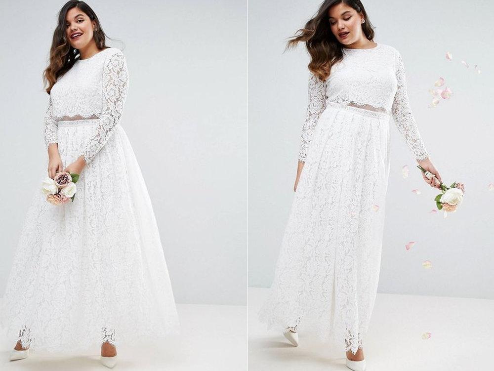 Vestidos de novia tallas grandes mexico df