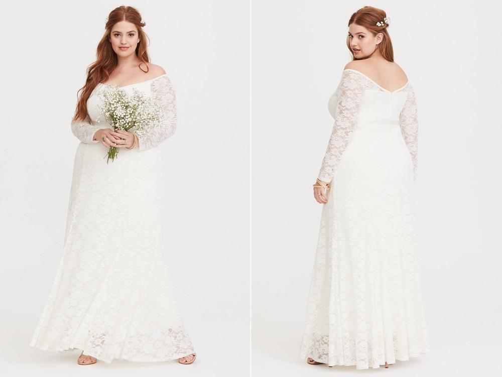 vestidos de novia tallas extras