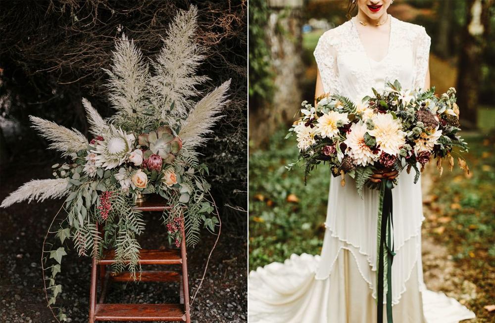 Foto:  Karra Leigh  Diseño Floral:  Mack Floral Design  / Diseño Floral:  Love n' Fresh Flowers