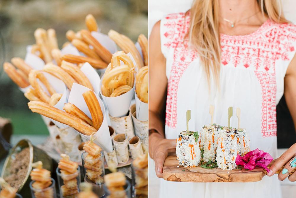 ideas catering de boda