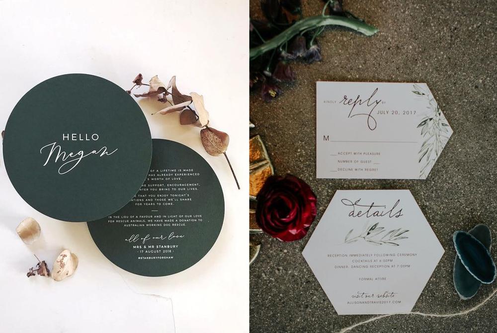 Invitaciones:  Peterkin Paper  y  Elizabeth King Design .