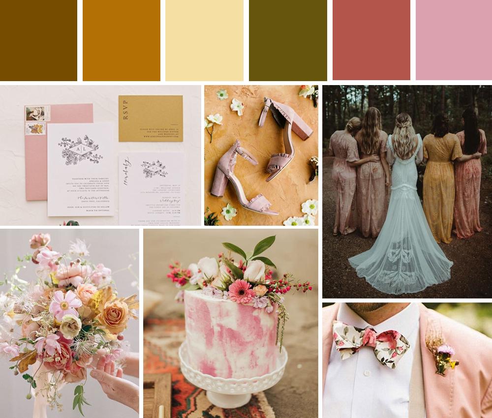 paletas de colores para bodas
