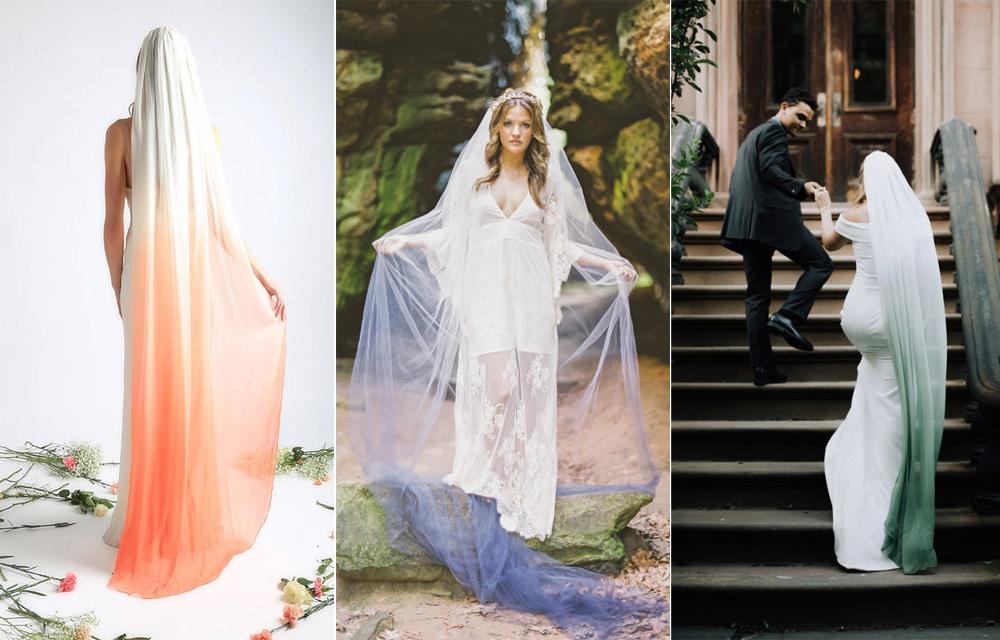 Velo:  Wayfarer Bride  / Foto:  Brandy Smith  Velo:  Fete La Femme  / Foto:  Eager Hearts Photography  Velo:  Wayfarer Bride
