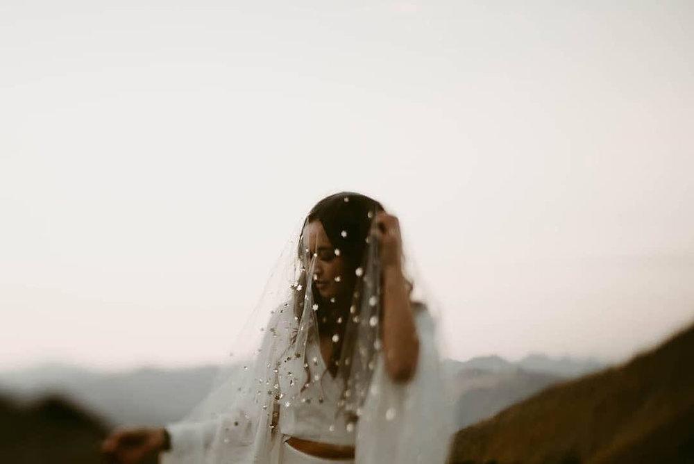 velos de novia alternativos