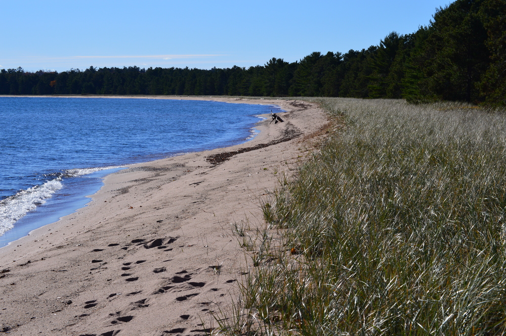 Big Bay Beach, State Park End