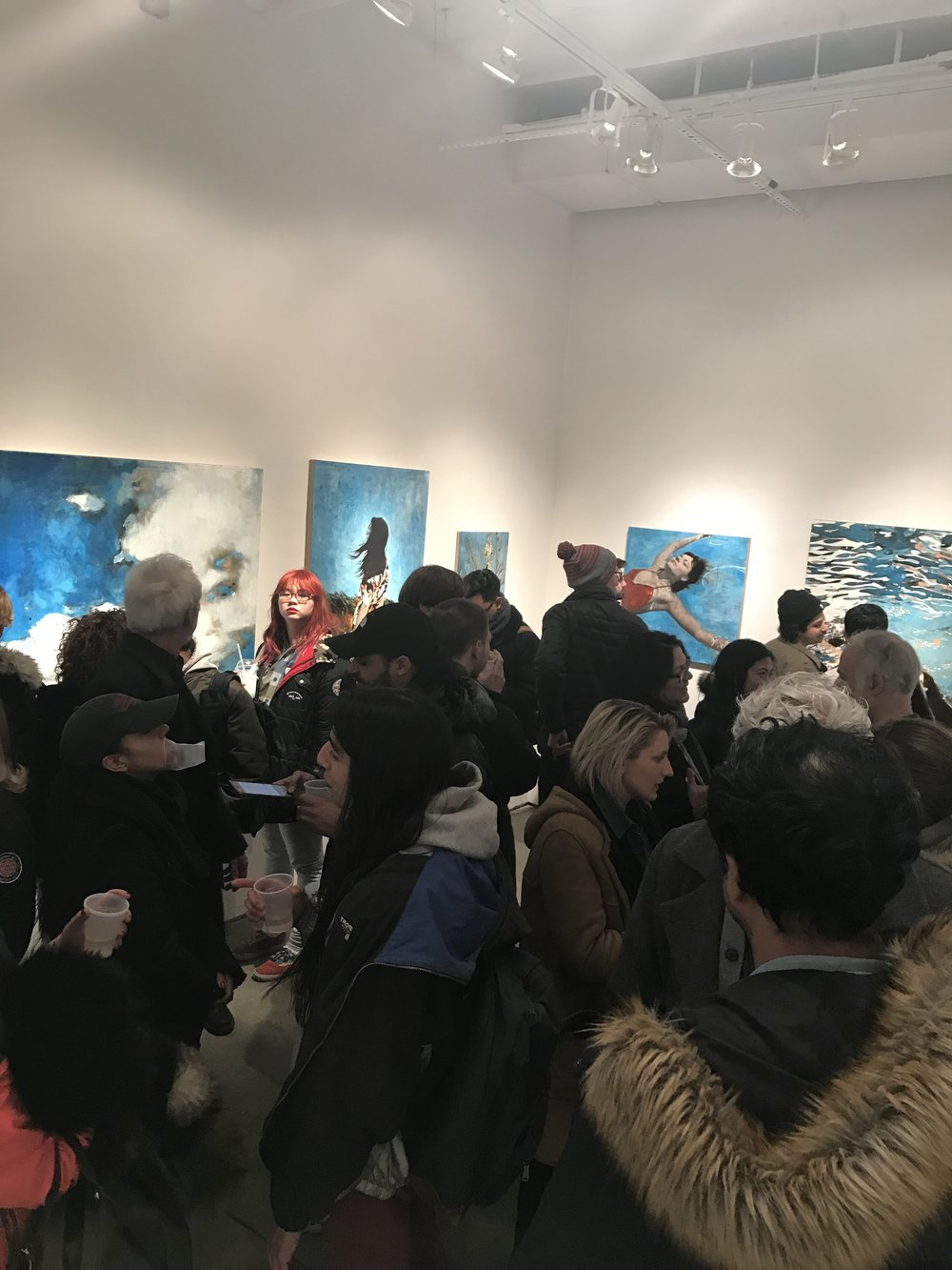 Opening Reception of Kissing The Sun
