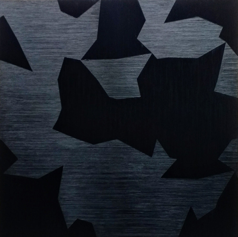 "Wouter Nijland,39.18, 2015 Oil on canvas, 59"" x 59"""