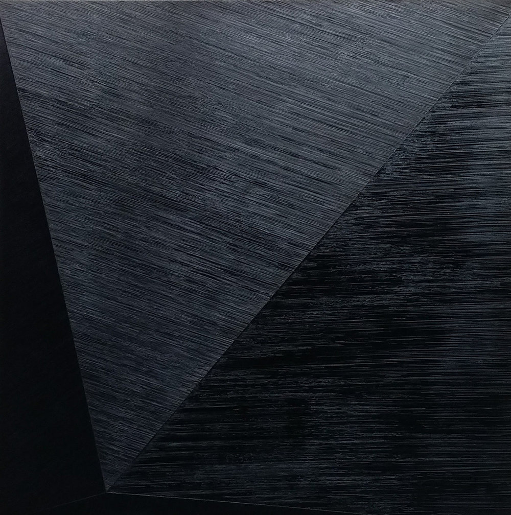 "Wouter Nijland, 47.1, 2015 Oil on canvas, 59"" x 59"""