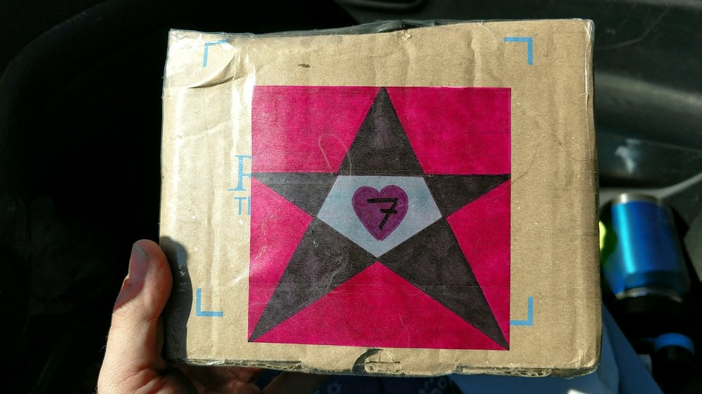 SHAPES - SEVEN - HEART - STAR - SQUARE