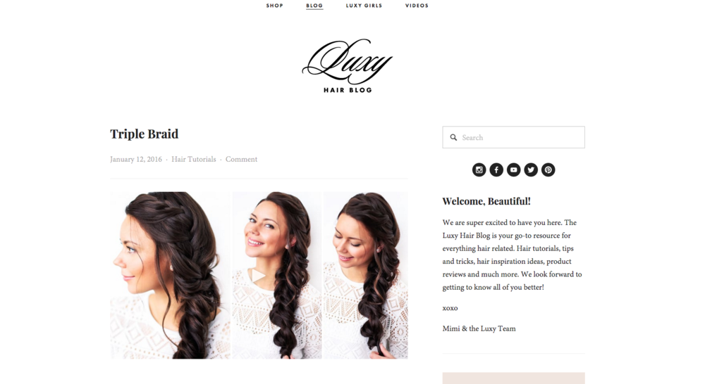 via luxy hair blog